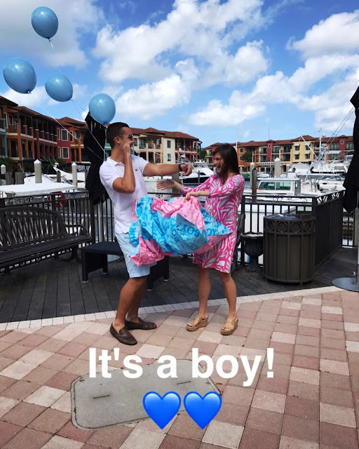 The Neapolitan gender reveal