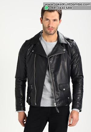 Model Jaket Kulit Domba Terbaru Asli Garut Pria Ramones Brida Leather