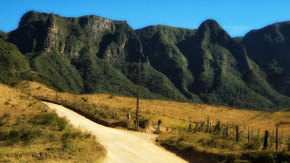 Serra do Corvo Branco, em Urubici