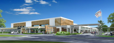 Source: Seletar Airport. Artist's impression of the new airport in Singapore.