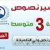 تحضير نص ولي التلميذة لغة عربية للسنة الثالثة متوسط الجيل الثاني