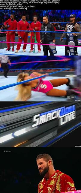 WWE Smackdown Live 10 Oct 2017 HDTV 480p