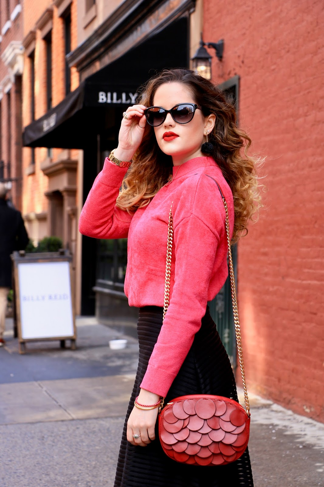 Nyc fashion blogger Kathleen Harper's date night outfit