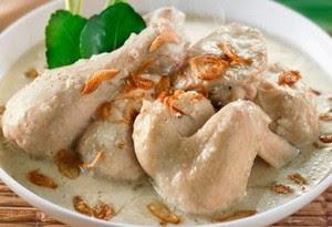 resep membuat opor ayam kuah putih yang lezat dan enak