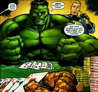 Hulk Playing Cards