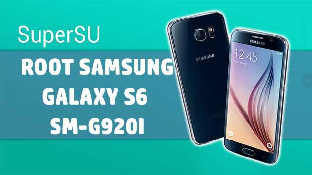 Cómo ROOTEAR Samsung Galaxy S6 SM-G920I