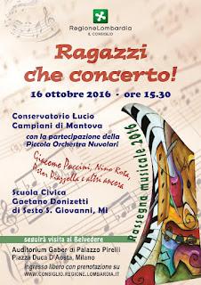 """""""Ragazzi che concerto!"""" Milano 16 ottobre 2016"""
