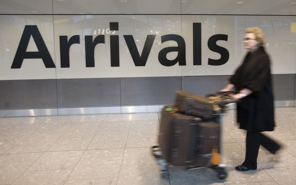 llegadas internacionales