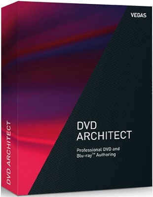 MAGIX Vegas DVD Architect 7.0.0 Build 54 poster box cover