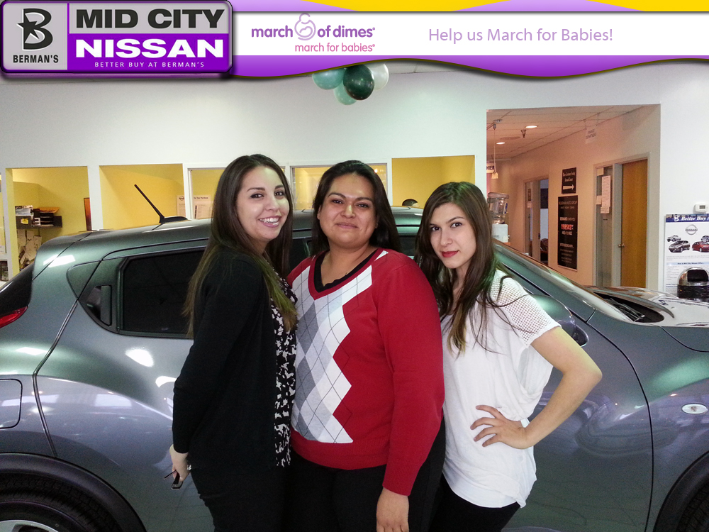 Mid City Nissan >> Help Mid City Nissan March For Babies Berman Auto Blog