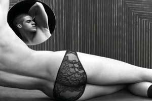 a1edf51e1 Lingeries bizarras  Homem com lingerie de pérola e mulher com sutiã ...