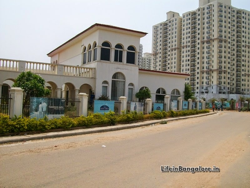 Life In Bangalore Dlf Westend Heights Apartments Construction Status Photo Al
