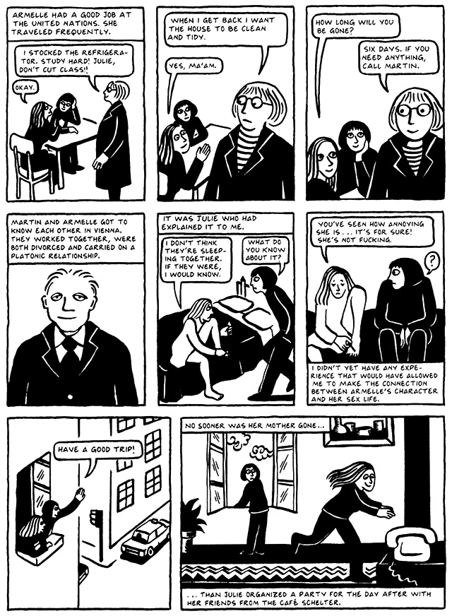 Read Chapter 4 - The Pill, page 29, from Marjane Satrapi's Persepolis 2 - The Story of a Return