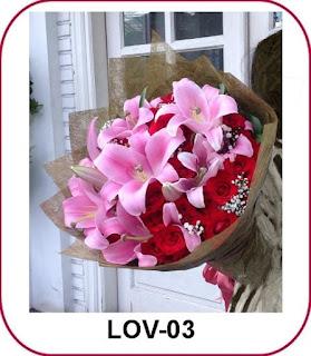 Pesan Bunga Valentine di Pluit Penjaringan