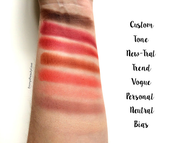 Makeup Revolution New-Trals vs Neutrals Palette Swatches