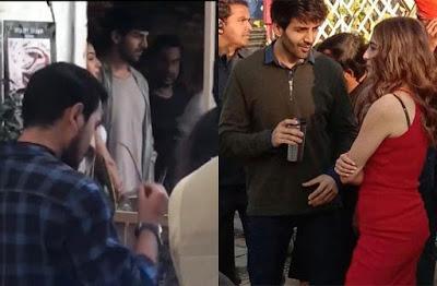 Sara Ali Khan and Kartik Aaryan shoot for Imtiaz Ali's 'Love Aaj Kal 2