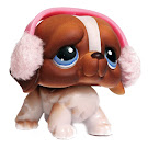 Littlest Pet Shop 3-pack Scenery St. Bernard (#76) Pet