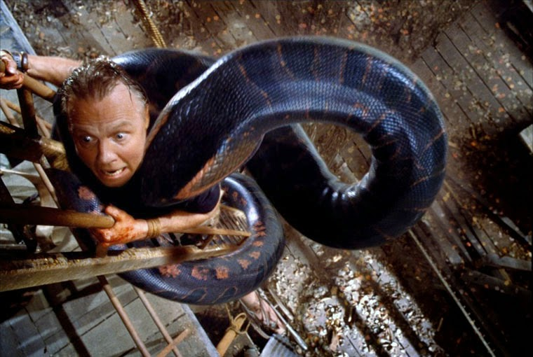 Jon Voight in ANACONDA (1997). Quelle: Columbia Pictures