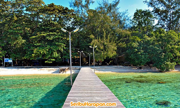 Pulau Genteng Kecil Kepulauan Seribu Utara