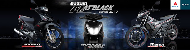 Raider, Axelo và Impulse - bộ ba đen nhám tung chảo mới của Suzuki