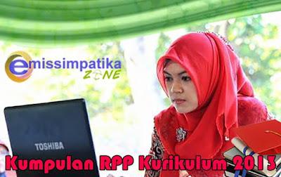 Kumpulan RPP Kurikulum 2013 Mapel Qur'an Hadits Tingkat MI Kelas I - VI