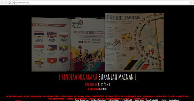 Ini dia Situs-Situs Malaysia Yang di Hack Oleh Hacker Indonesia
