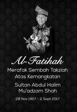 Belasungkawa Sultan Kedah