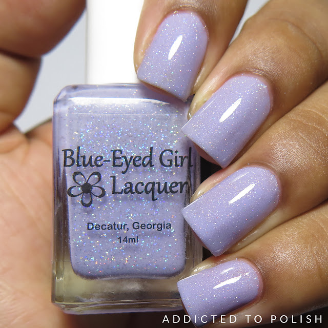 Blue Eyed Girl Lacquer Mannas Majestic Masterpiece The Color Box Purple