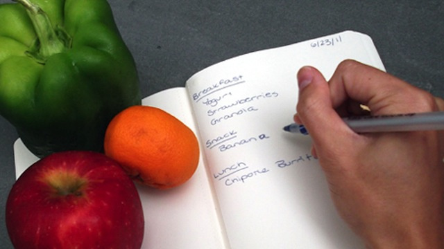 How To Keep A Food Journal : Weight Loss Goals
