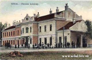 Sokal - Dworzec kolejowy