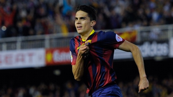 Borussia Dortmund seal Marc Bartra from Barcelona