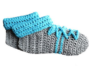 Women's Slippers - Free Crochet Pattern