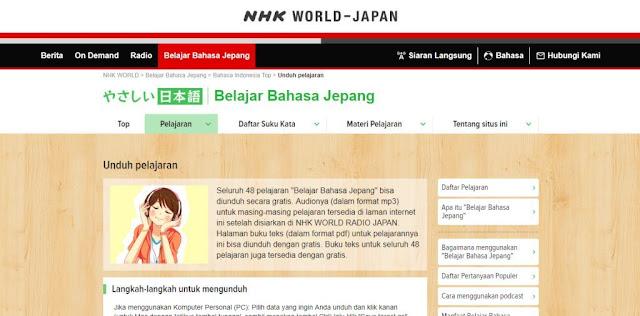 Ebook Bahasa Jepang, Langsung dari Situs Jepang!