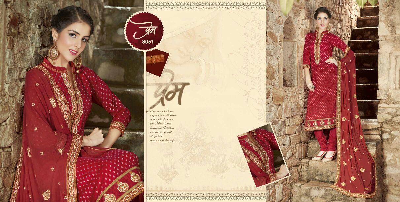 Mallika Vol 2 – Pure Cotton Embroidery Salwar Suit