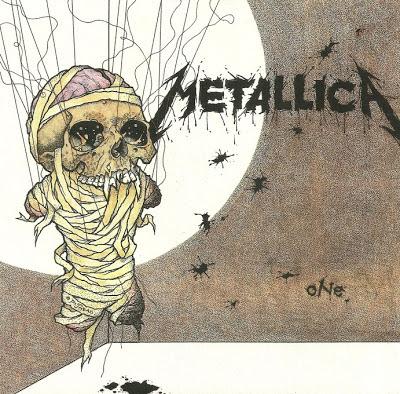 Portada del single One de Metallica