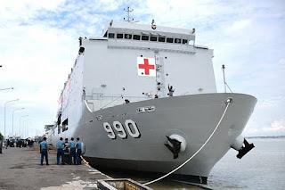 Kapal Bantu Rumah Sakit (BRS) KRI Dr. Soeharso-990 TNI AL