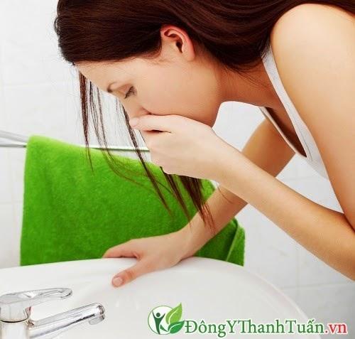 Buồn nôn là triệu chứng bệnh đau dạ dày
