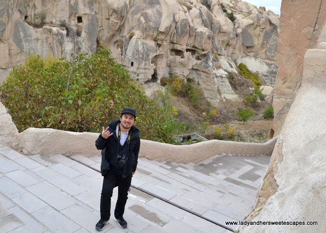 Ed at Goreme Open Air Museum