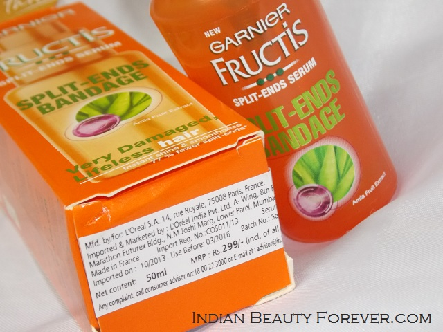 Garnier Fructis Splits Ends hair Serum
