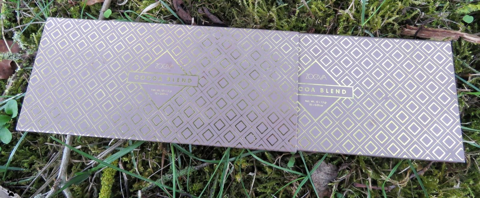 Palette Cocoa Blend de Zoeva