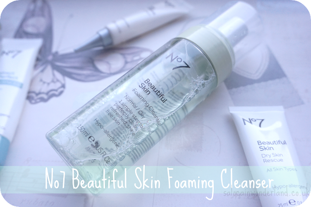 no7 beautiful skin foaming cleanser review