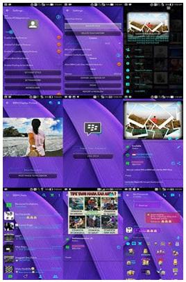 BBM Mod Purple Full Transparant