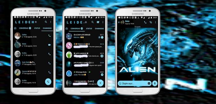 Baixar Temas GBWhatsapp - Alien