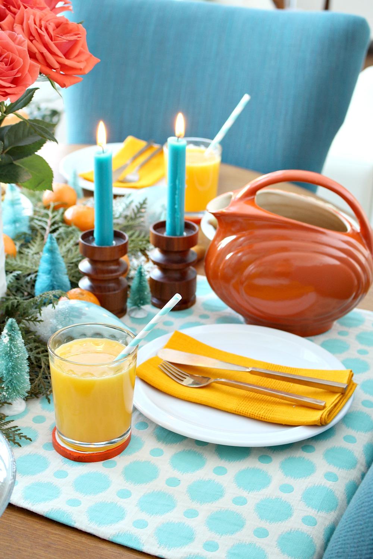 DIY Orange Slice Coasters