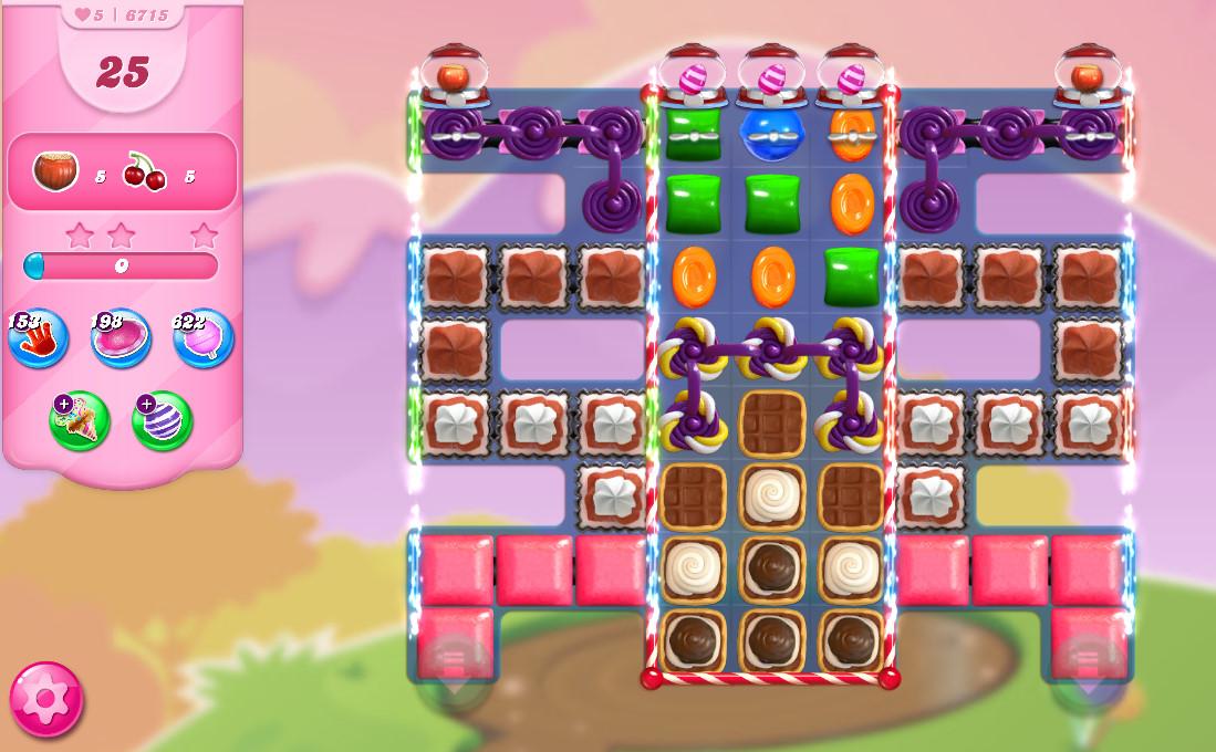 Candy Crush Saga level 6715