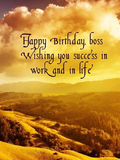 Top 31 Images Of Birthday Wishes for Boss Wishes Quotes Pictures – Birthday Card for the Boss