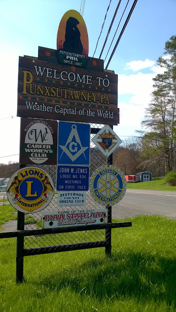 Welcome to Punxsutawney, Pennsylvania