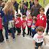 Participación en el Cross16 de familias de Infantil