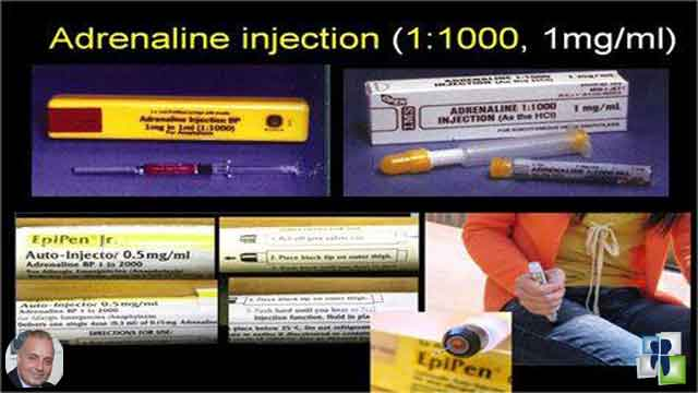 Adrenaline injection