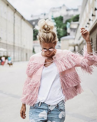 jacket rosa color pastel casual tumblr